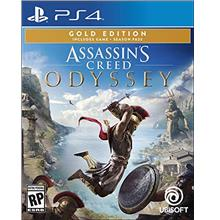 ...Fast Delivery Assassin's Creed Odyssey - PlayStation 4 Gold Steelbook Editi