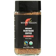 ...Fast Delivery Mount Hagen Freeze Dried Instant Coffee- 3.53 Oz Jars- 2 Pack