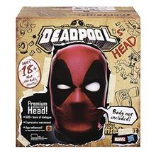 ...Fast Delivery Marvel Legends Deadpool's Head Premium Interactive, Moving,