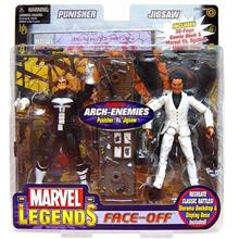 ...Fast Delivery Marvel Legends Face Off Series 2 Punisher vs. Jigsaw Action F