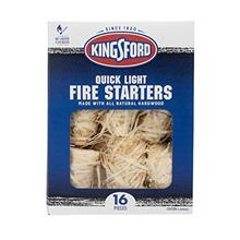 - Original Kingsford Grilling BB11417 Fire Starters, 16 Count, Natural