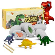 - Original Dino Egg Dig Kit, 12 Dinosaur Eggs and Dinosaur Egg Excavation Kit