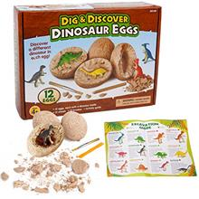 - Original sugoiti Dino Egg Dig Kit Including 12 Different Dinosaurs in Eggs S