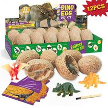 - Original XXTOYS Dino Egg Dig Kit Dinosaur Eggs 12 Dinosaur Excavation Kits w