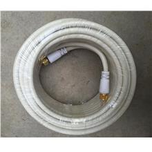 HDTV Digital TV F-male Coaxial Cable 13 Meter with free adaptor