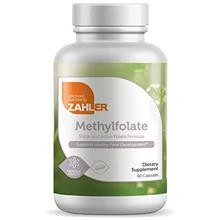 (FROM USA) Zahler Methyl Folate (Quatrefolic Acid), 1000MCG, Supports Healthy