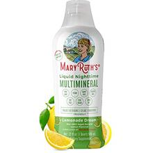 (FROM USA) Vegan Liquid Nighttime Multimineral by MaryRuth's - Highest Purity