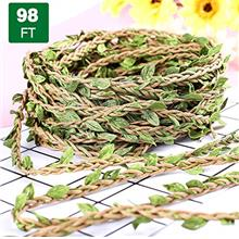 (FROM USA) chuangxindaye 98Ft/30M Artificial Vine Fake Foliage Leaf Plant Garl