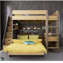 Loft Bed Bunk Bed Study Table Wardrobe (1 month pre-order)