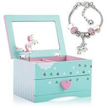 (FROM USA) Unicorn Jewelry Box For Girls - Two Unicorn Gifts for Girls includi