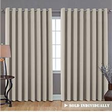 (FROM USA) H.VERSAILTEX Extra Long and Wide Blackout Curtains, Thermal Insulat