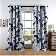 (FROM USA) Taisier Home 63 Inches Short Lnk Curtains Printed Grommet Top Room