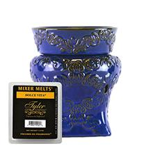 (FROM USA) RICHE DISTRESSED BLUE RADIANT Tyler Mixer Melter - Fragrance Warmer