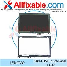 Lenovo Yoga 500-15ISK 500-15IBD Flex 3-15 LED + Touch Panel