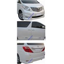 Toyota Alphard '08 ANH-20 G Version Body Kit ABS Material