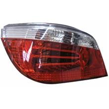 BMW 5 Series E60 `03-09 Tail Lamp Crystal LED Red/Clear [BM13-RL01-U]