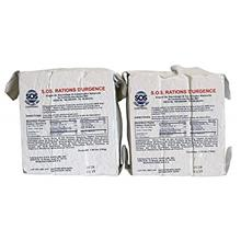 [USAmall] SOS Food Labs 185000826 Emergency 3600 Calorie Food Bar (Pack of 2)