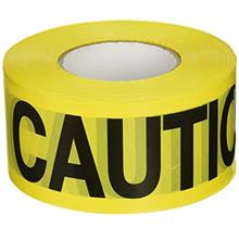 [USAmall] C.H. Hanson 16000 Yellow Caution Barricade Tape, 2 mil, 1000 ft, YEL
