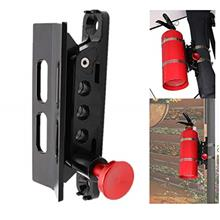 [USAmall] Vehicle Universal Roll Bar Bottle / Fire Extinguisher Holder Mount,A