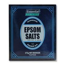 ESSENTIEL EPSOM SALTS 375G GRANULES FOOD GRADE X 5 PACKS