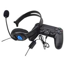 One-side Gaming Headset with Mic for Sony Playstation 4 PS4