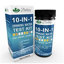 [USAmall] 10-in-1 Drinking Water Test Kit by Baldwin Meadows - Water Quality T