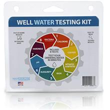 [USAmall] Well Water Testing Kit - Tests For Bacteria & 7 Other Tests In One