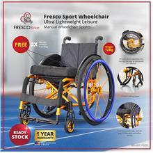 Fresco Sport Wheelchair Ultra Lightweight Leisure Manual