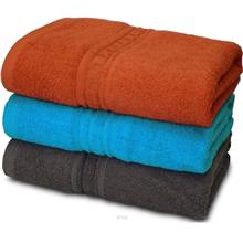 Essina Walltone Cotton Bath Towel 350gm 70cm x 140cm (2 Piece))