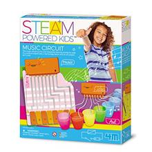 4M Steam Powered Girls Magic Circuit Kit, Brown/a