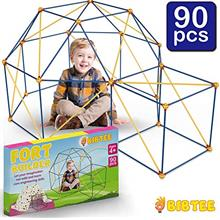 B Fort Builder Kit for Kids - Fort Making Kit - Blanket Fort Kit for Indoor an