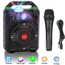 Verkstar Portable Karaoke Machine, PA System Speaker Wireless Bluetooth Rechar