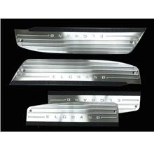 NISSAN ELGRAND E51 02-10 Stainless Steel LED Door Side Sill Step
