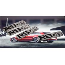 [Buy1Free1] Rs R Rs*R Auto Car Door Sill Plate Foot Step Board Metal 4