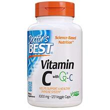 From USA Doctor's Best Vitamin C with Quali-C 1000 mg, Non-GMO, Vegan, Gluten