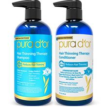 From USA PURA D'OR Hair Thinning Therapy System - Biotin Shampoo  & Conditione