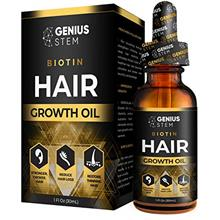 From USA GENIUS Hair Growth Oil, Biotin Hair Growth Serum, for Stronger, Thick