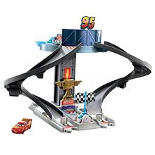 From USA Disney and Pixar's Cars Rust-Eze Racing Tower Race Car Track Set fo