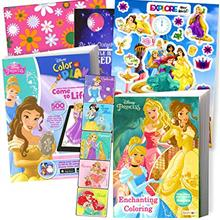 From USA Disney Coloring Book and Stickers Gift Set - Bundle Includes Gigantic
