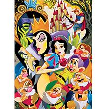 From USA Ceaco Disney Fine Art Enchantment of Snow White Jigsaw Puzzle, 1000 P