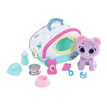 From USA Disney Jr T.O.T.S. Care for Me Pet Carrier - Kitty