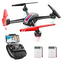 From USA SNAPTAIN SP660 FPV RC Drone with Camera, 720P HD WiFi Live Video Quad