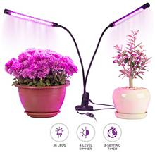 From USA Grow Light, Rozway 40W Dual Head | HIGH YIELDS | Timer 4 Dimmable Lev