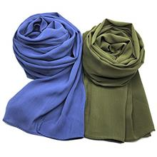 ..// WANBAO 2pcs Women Chiffon Scarves Shawl Keep Warm Scarf Wrap Scarves Suns