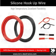 High Temperature Silicone Hook Up Wire | 22 AWG, UL3239, by meter