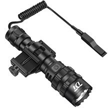 [USAmall] Tactical Flashlight, 1200 Lumen Weapon Light Matte Black LED Hunting