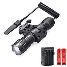 [USAmall] WINDFIRE Tactical Flashlight 2000 Lumens LED Weapon Light with Quick