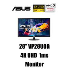 Asus 28' VP28UQG 4K UHD Monitor (FreeSync/Display Port/1ms)