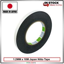 [MADE IN JAPAN] Nitto Double Sided Tape 12mm Width heavy duty