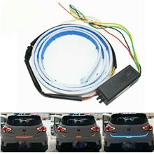 LED Strip Trunk Tail Brake Turn Signal Flow Light Type Ice Blue Red Yellow Whi